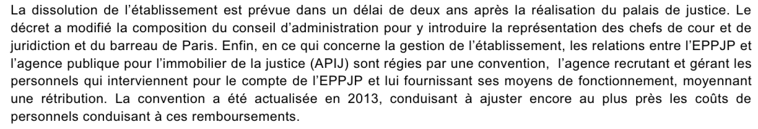 Capture d'écran missions de l'EPPJP